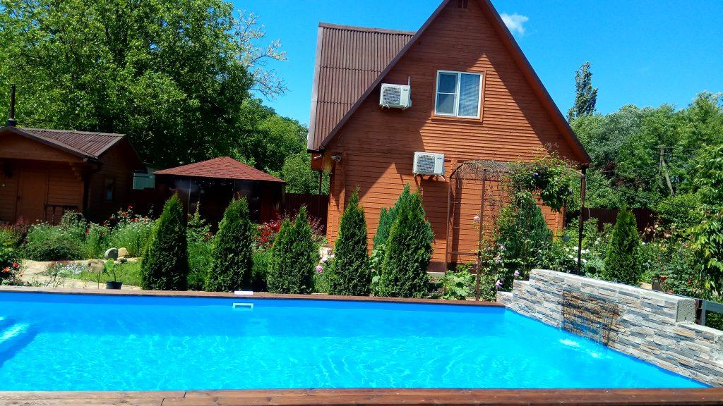 Гостиница с бассейном Геленджик 1